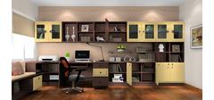 简单实用的美式风格书房