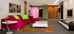 电视背景墙用什么色调风水比较好?