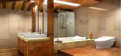 清新自然富有生机,打造不同田园风格浴室!