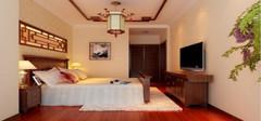 中式风格的卧室吊顶效果怎么样?