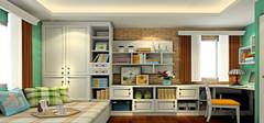 田园风格书房设计,享自然闲淡的感觉!