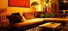 东南亚风格的沙发效果图,是不是很好看!