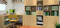 书房装修家具用什么色