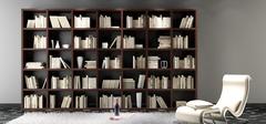 书房装修 书架尺寸选购是关键