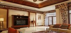 中式风格装修别墅,最温暖!