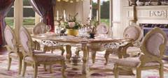 欧式风格餐桌,感受木质精品!