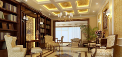 不一样的风情——欧式书房装修