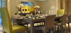 欧式风格古典餐桌,给你完美盛宴!