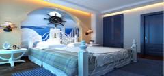 地中海风格卧室设计,感受海洋的气息!