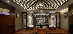 异域风情的东南亚风格客厅吊顶!