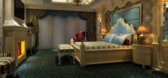 蓝色卧室如何装修