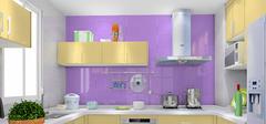 紫色厨房装修 你知道多少