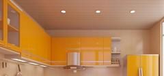 橙色厨房装修设计要点