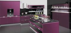 紫色厨房装修注意事项
