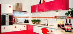 经典红色厨房装修三大要点