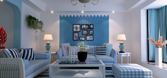 设计师口中的蓝色客厅装修技巧,不看别后悔!