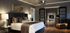 现代简约风格卧室,让人心动的设计!