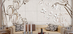 现代简约风格背景墙,个性创意的装修!