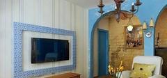 地中海风格壁纸,聪明选择唯美搭配!