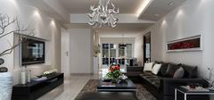 现代简约风格客厅,简约不平凡的设计!