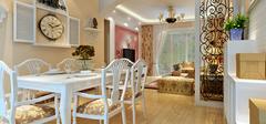 美式田园风格装修,感受自由清新的家居!