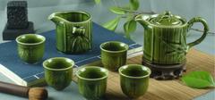 在选购陶瓷茶具时,我们应该注意什么?