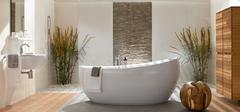 现代风十足的现代简约风格浴室!