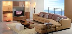 巧妙摆设组合家具,使客厅更美
