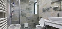 卫生间瓷砖铺贴工艺规范,三步就完成!