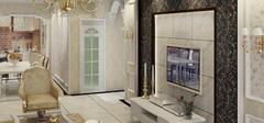 最新设计,欧式风格电视背景墙!