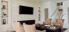 观美式风格电视背景墙,体验美式风味!