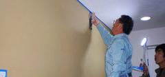 油漆施工切勿急,预防工作要做好
