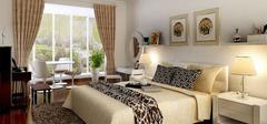 田园风格床品,如何用布艺装点田园卧室?