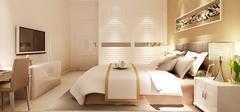 现代简约风格卧室,时尚与舒适致命诱惑!