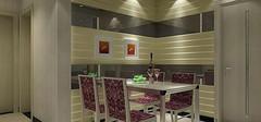 餐厅色彩风水喷绘和谐餐厅