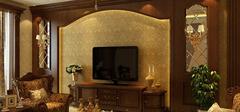 美式风格电视背景墙,传递风情万种的经典!
