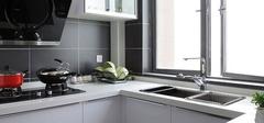 现代简约风格厨房,繁琐中寻一处简单!