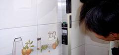 厨房墙地砖验收方法
