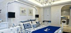 地中海卧室装修效果图,海边的享受
