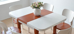 日韩风格餐厅,实木餐桌的特点!