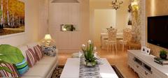 田园风格客厅设计,客厅细节讲解!