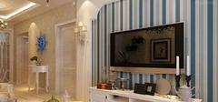 地中海风格电视背景墙,客厅的吸睛术!