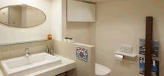 巧设计,展现完美小户型卫浴设计!