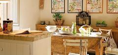 不一样的用餐环境,田园风格餐厅装修!