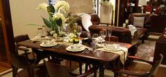 日韩风格的实木餐桌,优雅的格调!