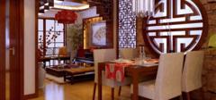 中式餐厅装修设计的四个注意事项