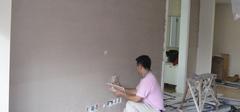 硅藻泥墙面施工     三种墙面各不同