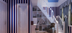 地中海风格阁楼设计,空间自由有方法!
