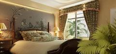 东南亚风格卧室,尽享大自然的美!