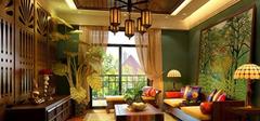 东南亚风格热带植物,家居植物配置!